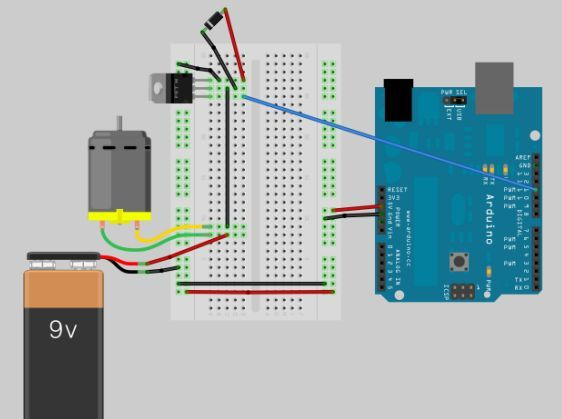 Circuit Building a semi Smart, DIY boat with Arduino and some other sensors