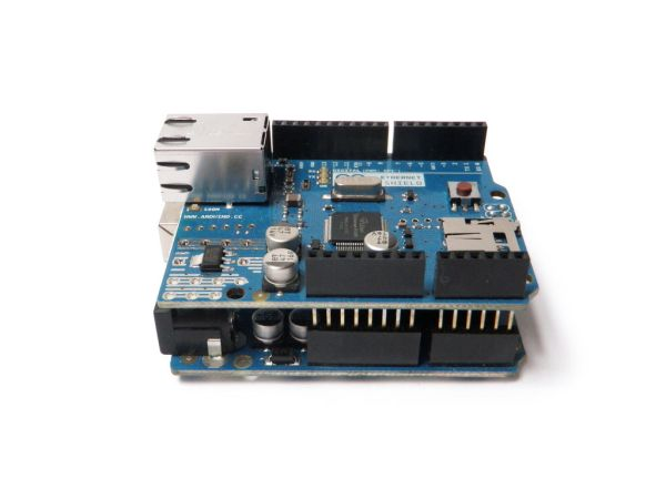 Arduino Ethernet Shield features
