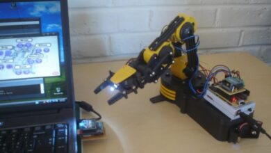 """Photo of Make Wired Robotic Arm Edge to """"Wireless"""" using DIY Arduino and XBee"""