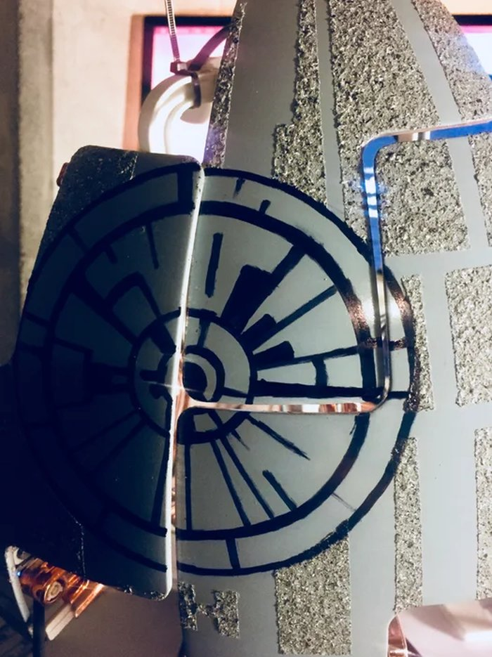 Draw Out the Superlaser Alexa-Enabled Death Star Lamp