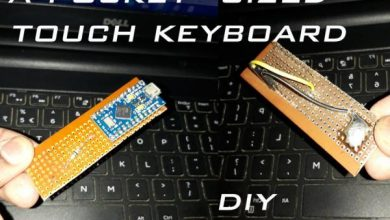 Photo of A Pocket Sized Touch Keyboard