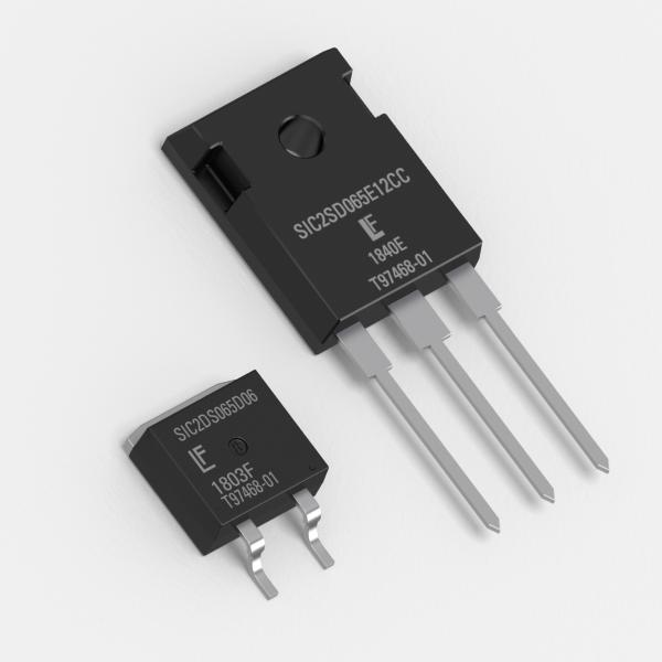 GEN2 650V SIC SCHOTTKY DIODES OFFER IMPROVED EFFICIENCY, RELIABILITY AND THERMAL MANAGEMENT