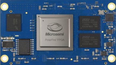 Photo of System-on-module With Polarfire Fpga at Embedded World