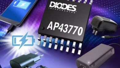 Photo of Usb Pd Controller From Diodes Supports Standard and Proprietary Protocols for Power Delivery