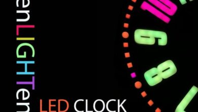 Photo of Web-Connected SMART LED Animation Clock With Web-based Control Panel, Time Server Synchronized