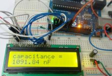 Photo of Capacitance Meter using Arduino