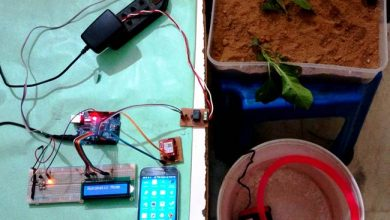 Photo of Arduino based Automatic Plant Irrigation System with Message Alert