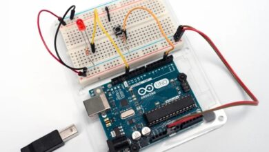 Photo of Digital Input With a Pushbutton With Arduino in Tinkercad