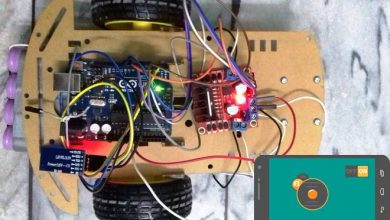 Photo of Mobile Phone Controlled Robot Car using G-Sensor and Arduino