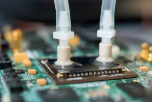 Photo of Liquid Cooling Moves onto the Chip for Denser Electronics