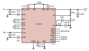 Photo of LTC3118 – 18V, 2A Buck-Boost DC/DC Converter with Low-Loss Dual Input PowerPath