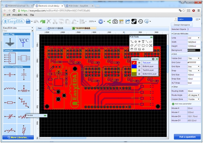 PCB Layout How to Make an LED Scrollbar