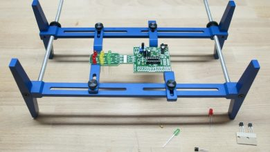 Photo of PCB Rax – An easy to use circuit board holding system