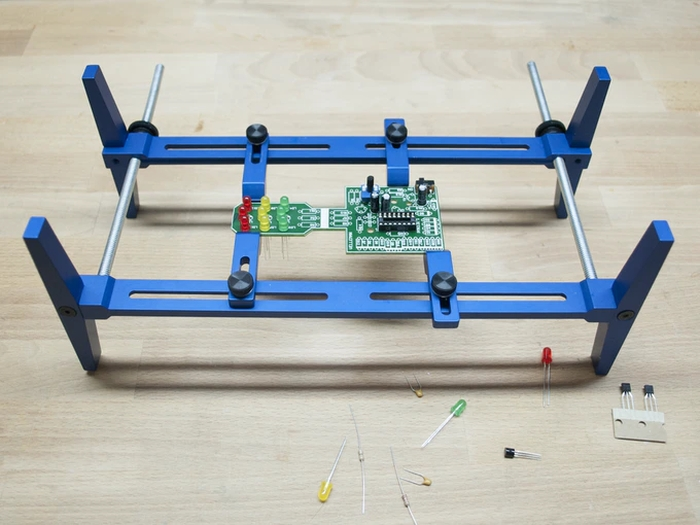 PCB Rax - An easy to use circuit board holding system