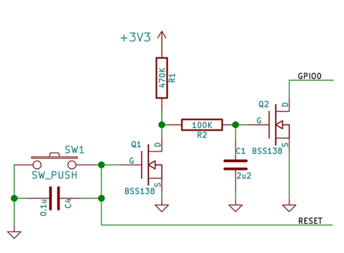 Schematic ESP8266 breadboard adapter and I'm on Tindie