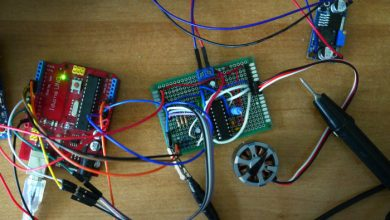 Photo of Spining BLDC(Gimbal) motors at super slooooooow speeds with Arduino and L6234