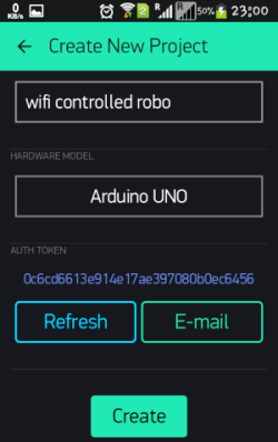 wifi controlled mobile robot blynk app